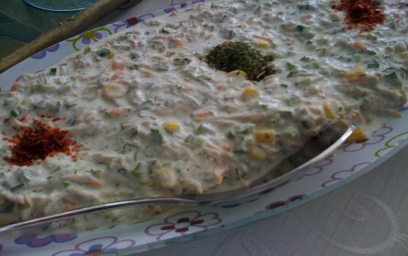 Tavuklu Mayonez Salatası Thumbnail