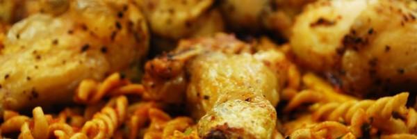 Mantarlı Kepek Makarnalı Tavuk Thumbnail