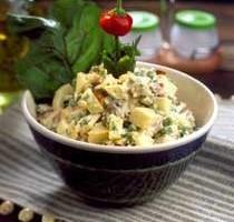 Pirinçli Pastırmalı Salata Thumbnail