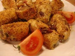 Tahinli Pastırmalı Tavuk Sarma Thumbnail