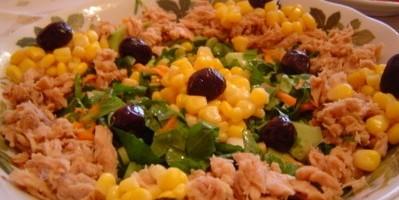 Ton Balıklı Roka Salatası Thumbnail